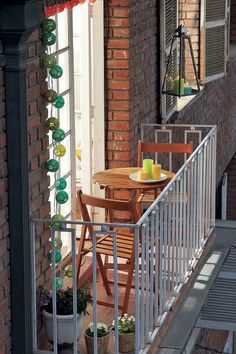 35 Awesome Tiny Balcony Decor Ideas #awesome #balcony #decor #ideas
