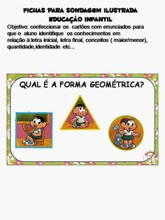 Dani Educar : Sondagem Ilustrada para educação infantil