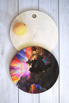 Buy Cutting Board Round with Color Explosion Iii designed by Adam Priester. One of many amazing home décor accessories items available at Deny Designs. Color Explosion, Home Decor Accessories, Cutting Board, Home Goods, Sweet Home, Painting, Design, Art, Priest