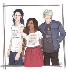 Kieran, Cristina,  Mark