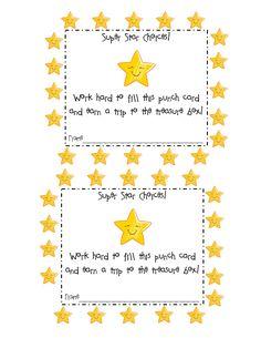 Free Printable Punch Card Template Of Best S Of Student pertaining to Reward Punch Card Template First Grade Classroom, Art Classroom, Future Classroom, School Classroom, Classroom Ideas, Classroom Behavior Management, Classroom Organisation, Classroom Discipline, Behavior Rewards