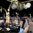 63rd Emmy Awards Govenor Ball. BBJLINEN decades through history - callas in all different shape forms