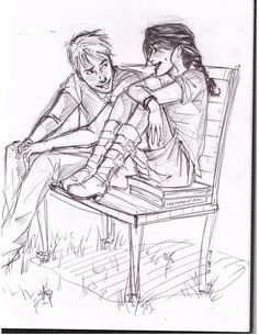 """""""I thought babysitting murderers wasn't your job?"""" """"Well, you're not exactly a murderer, are you?"""" """"No, I guess I'm not."""" (Ciana and Aaron)"""