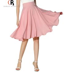COLOR: White/ Black/ Green/ Pink DETAIL:Zipper DRESSES LENGTH:Mid calf MATERIAL:Polyester PATTERN TYPE:Plain SILHOUETTE:Skater WAIST TYPE:High waist Polyester Non-stretchable Material Back Zipper Hand wash cold