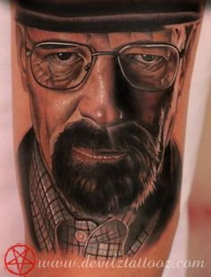 Breaking bad, Heisenberg, Walter White tattoo