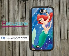 The Little Mermaid  Samsung Galaxy Note 2 Case Cute by PacyZone, $15.99