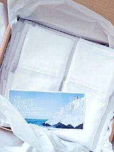 #Sábanas colección Capri de The White Basics