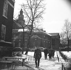 Old Time Cincy -  Old picture of University of Cincinnati, my Alma Mater.