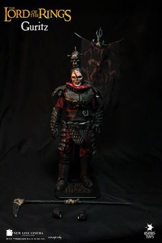 """Mordor Orc Captai Guritz Lord of the Rings 1/4 Scale (18"""") action figure"""