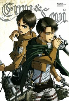 I am really frustrated that I can't ship them...Levi is in his thirties and Eren is fifteen so its pedophilia but FRECKLED JESUS I WANT TO SHIP THEM BUT NO ILL JUST SHIP EREN WITH ANNIE OR MIKASA INSTEAD ((It also sucks because I can't ship Levi and Mikasa either and no they aren't related))