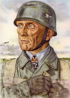 Major-General Brauer, the winner at Dordrecht and Moerdist, founder of our paratroops