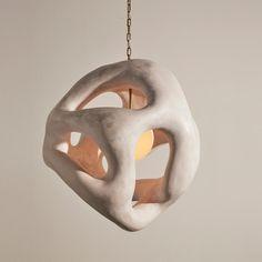 """Fertility Form"" Illuminated Sculpture by Rogan Gregory Ceramic Pottery, Ceramic Art, Ceramic Lamps, Slab Pottery, Ceramic Bowls, Keramik Design, Ceramic Light, Modern Ceramics, Clay Art"