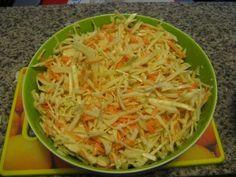 Salade américaine de chou et de carottes (Coleslaw)