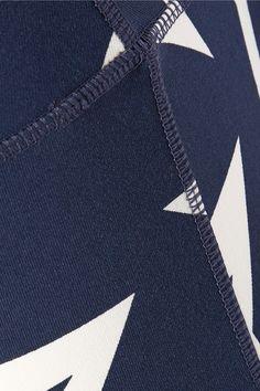 Perfect Moment - Star Light Printed Stretch Leggings - Storm blue - medium