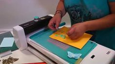 Hot foil butterfly embellishments using the Create and Craft TODO - Free Craft Video - Card Making - Crafts Beautiful Magazine Butterfly Cards, Butterfly Colors, Card Making Tips, Spellbinders Cards, Embossing Machine, Crafts Beautiful, Paper Crafts, Diy Crafts, Create And Craft