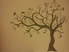 tree painted on wall - Google Search