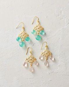 Indulgems Chandelier Earrings - Garnet Hill