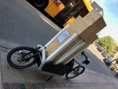 SuperSize packages ready to be shipped out to our fine customers Cargo Bike, Larry, New Zealand