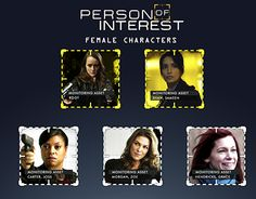 "Check out new work on my @Behance portfolio: ""Person of Interest series female characters"" http://be.net/gallery/35961287/Person-of-Interest-series-female-characters"