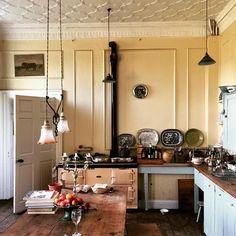 April's beautiful kitchen, from Ben Pentreath's Instagram (1 October 2015).