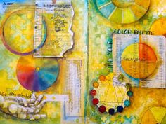 The Pam & Mary Beth Art Journal Road Show...my Christmas/Birthday present!
