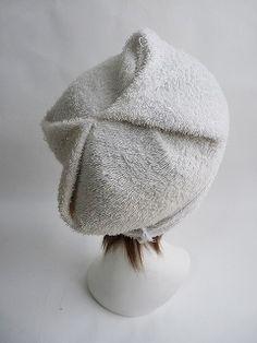 手作りっ!(簡単に作れるタオル帽子(ケア帽子)の作り方)