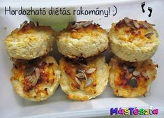 Baked Potato, Cauliflower, Muffin, Low Carb, Healthy Recipes, Snacks, Baking, Vegetables, Eat