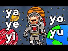 Sílabas ya ye yi yo yu - El Mono Sílabo - Videos Infantiles - Educación para Niños # - YouTube