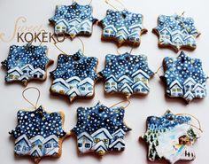 Christmas Night Cookies - Cake by SweetKOKEKO by Arantxa