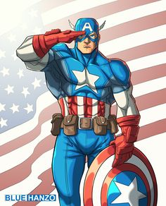 Captain America by MadPlatypuss