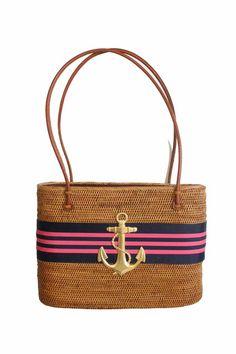 Bali bag with nautical detail
