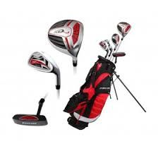 Golf Bag *** Precise XDJ Junior Complete Golf Club Set for Children Kids 3 Age Groups Sizes Available Boys and Girls Right Hand and Left Hand! Red Ages 68 Right Hand *** Read more at the photo web link. (This is an affiliate link). Golf Club Sets, Golf Clubs, Ladies Golf, Women Golf, Golf Outfit, Left Handed, Golf Bags, Boy Or Girl, Boys