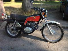 Honda Xl 250 - My last off-roader before I mover to a Goldwing