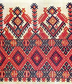 Traditional Cretan embroidery.