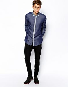 Enlarge Lambretta Shirt With Contrast Placket