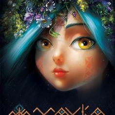 Ловите #постер украинского #мультфильм #Мавка Лесная песня