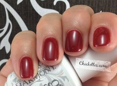 Gelish Backstage Beauty from the House of Gelish Collection    Lovely red