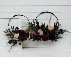 Bridal Bouquet Fall, Fall Wedding Flowers, Bridal Flowers, Bridesmaid Bouquet, Boho Wedding, Floral Wedding, Gothic Wedding, Dream Wedding, Halloween Wedding Flowers