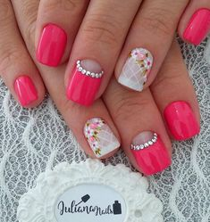 Best Nail Art Designs 2018 Every Girls Will Love These trendy Nails ideas would gain you amazing compliments. Check out our gallery for more ideas these are trendy this year. Bio Gel Nails, Fall Gel Nails, Get Nails, Best Nail Art Designs, Beautiful Nail Designs, Nail Polish Designs, Christmas Nail Designs, Christmas Nail Art, Easy Nail Art