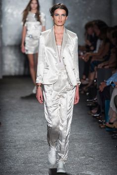 Marc by Marc Jacobs Spring 2014 Ready-to-Wear Collection Slideshow on Style.com EVENING SATIN SUIT
