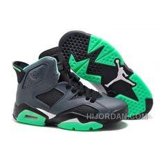 Women Air JD 6 Retro Girls Black Jade Green For Sale Online 82shs 3f0892e1a