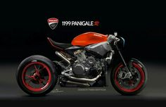 1199 panigale turned cafe racer
