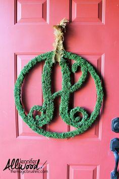 Moss+Monogram+Letter
