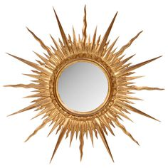 Contemporary Teal Blue Sunburst Mirror Ref Dd10540t 163