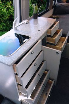 Sportsmobile Custom Camper Vans - Sprinter Owner Design Examples, RB Vans