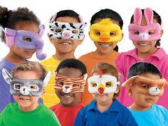 Washable Dress-Up Masks at Lakeshore Learning
