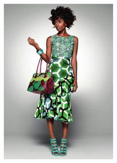 African mixed prints [more at pinterest.com/azizashopping]