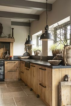 Home Decor Kitchen .Home Decor Kitchen Kitchen Interior, Home Decor Kitchen, House Design, Kitchen Remodel, Kitchen Decor, Kitchen Inspiration Design, House Interior, Home Kitchens, Rustic Kitchen