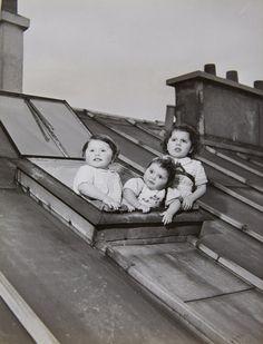 Robert Doisneau, Les enfants de Salkhazanoff, Paris, 1950.