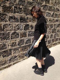 Le pull fourrure - Street Style - Barbara Bui - Vencouvert - Zara